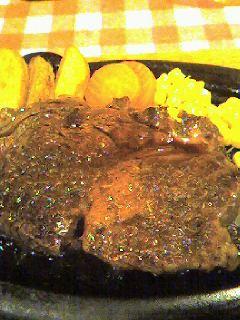ぶどう牛ステーキの画像