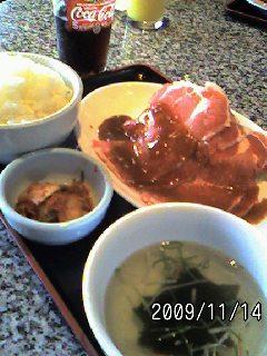 焼肉・しゃぶしゃぶのいちばんの豚みそランチの画像