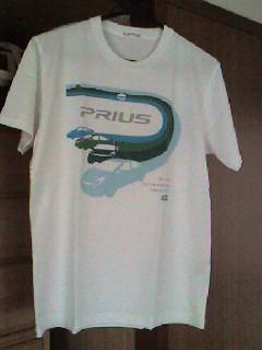 プリウスTシャツの画像